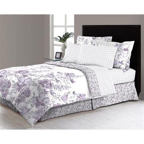 freida floral  piece queen bed   bag comforter set