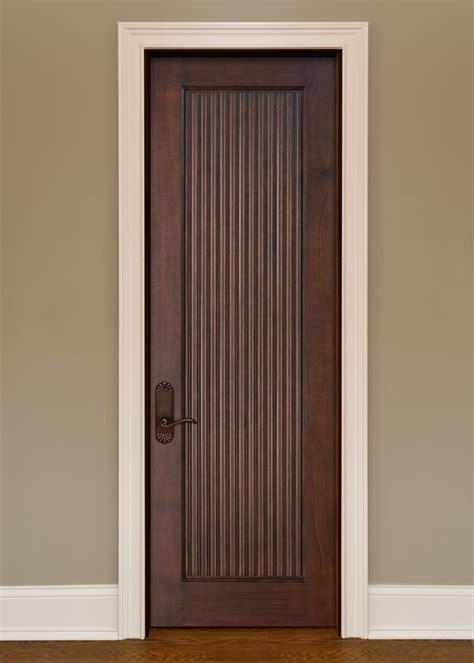 Custom Mahogany Interior Doors — Solid Wood Interior Doors