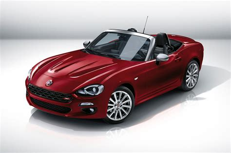 fiat spider 124 fiat 124 spider revealed at 2015 la show fiat s mx 5