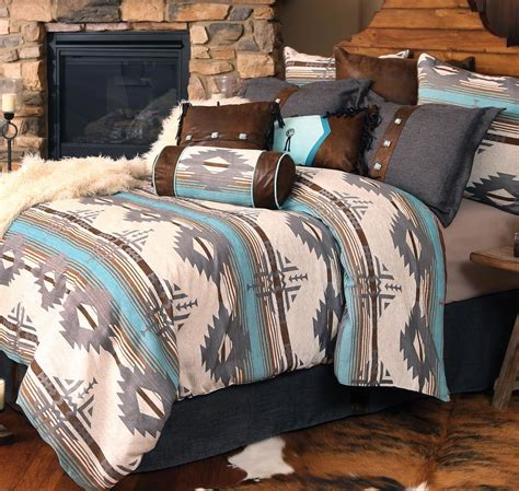 western bedding sets king size dakota sky bed setlone