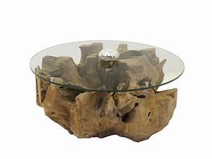 Wurzelholz Tisch Mit Glasplatte : couchtisch glastisch tisch wohnzimmertisch wurzelholz runde glasplatte 4982 tische couchtische ~ Bigdaddyawards.com Haus und Dekorationen