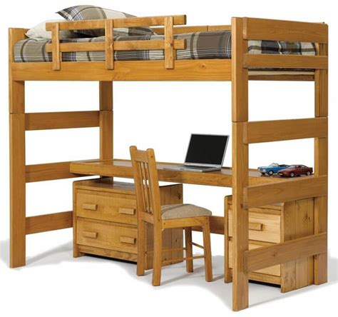bed with built in desk 25 awesome bunk beds with desks perfect for kids