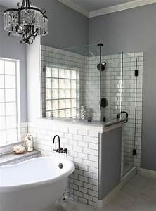 Petite Baignoire Retro : 1001 id es pour am nager une petite salle de bain des ~ Edinachiropracticcenter.com Idées de Décoration