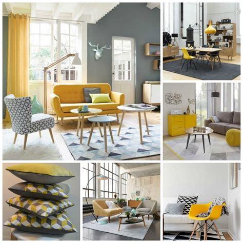 chaises de cuisine déco scandinave et couleurs