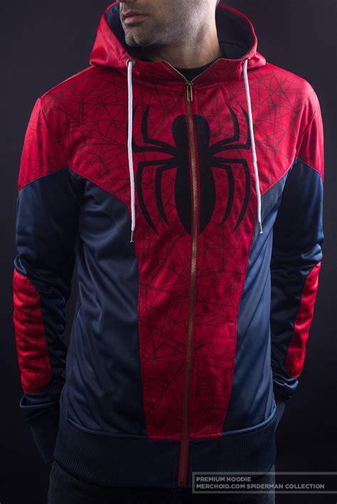 spiderman premium hoodie merchoid