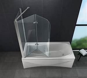 Duschtrennwand Badewanne Glas : eck duschtrennwand around 75 badewanne glasdeals ~ Michelbontemps.com Haus und Dekorationen