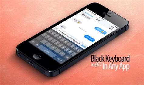 iphone 5s keyboard ios 7 i can help you how to change ios 7 keyboard to black or