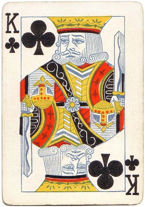We are told that kings card club does not currently run any poker tournaments. #PlayingCardsTop1000 - King of clubs playing card poker | Playing card tattoos, Poker cards, Cards