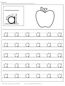Preschool Handwriting Practice Worksheets