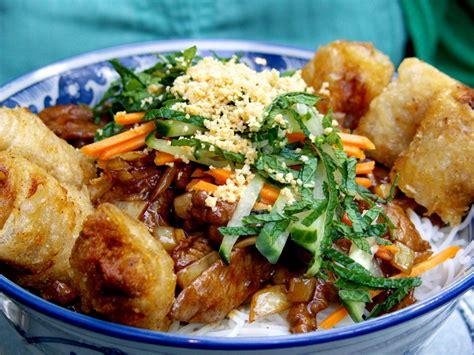 recette du bo bun nems vietnamien