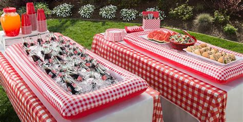 gingham picnic party theme picnic party supplies party