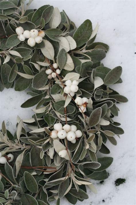 mistletoe wreath winter pinterest