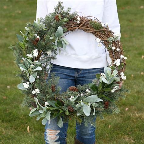 rustic farmhouse wreath step  step tutorial