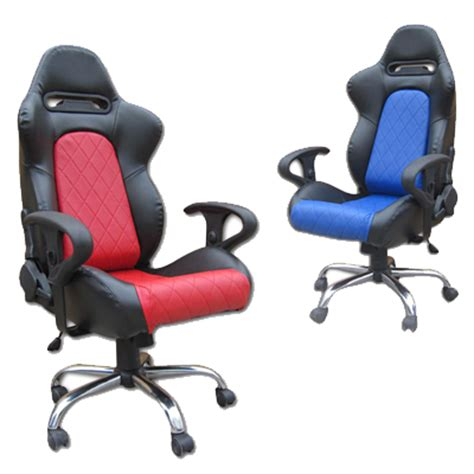office chairs with racing car style back in stock