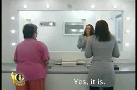 mirror bathroom prank