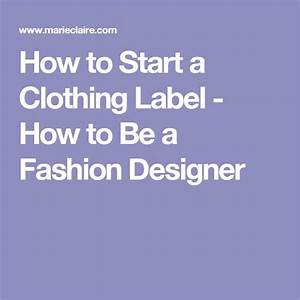 1000 ideas about clothing labels on pinterest leather for How to start a clothing label