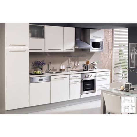 meuble cuisine melamine blanc element cuisine