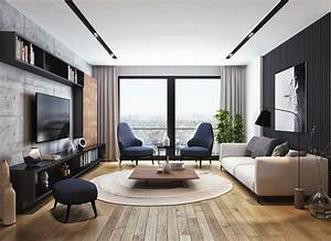 Apartment, Interior, On, Behance