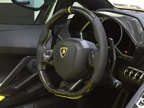 Lamborghini Aventador Full Carbon Custom Steering Wheel