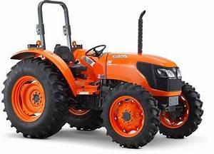 2009 Kubota Wsm M6040 M7040 Narrow Supplement  Tractor