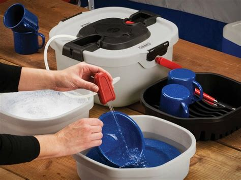 all in one portable sink coleman all in one portable sink getdatgadget