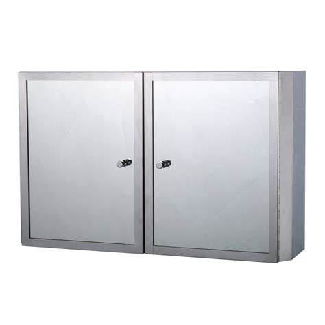 Bathroom Cupboard With Mirror by Homcom Stainless Steel Mirror Cabinet Bathroom Cupboard