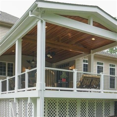 bi level floor plans with attached garage 117 best covered deck and patio ideas images on