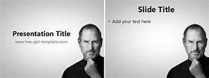 steve jobs powerpoint template - steve jobs ppt template free powerpoint templates