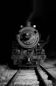 Steam Train at Night