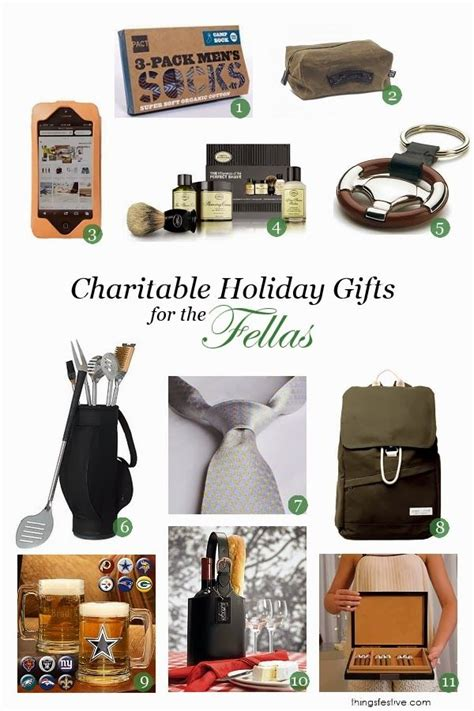 charitable holiday gifts for men wedding events