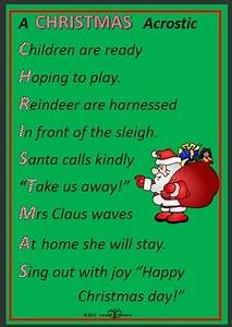 Writing Christmas poems with early childhood students by