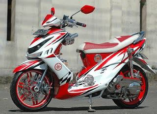 Modifikasi Mio J Merah by Gambar Modifikasi Motor Mio J Foto Modifikasi Motor Mio