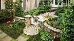 Cottage, Garden, Courtyard, -, Classic, Courtyards