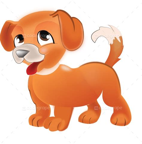 cute dog illustration graphics codegrape