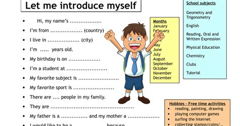 confidently introduce   english video