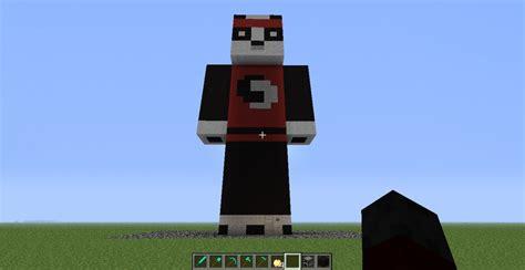 ninja panda statuebase minecraft map