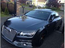 Buy used 2014 audi a7 sline custom, 20 wheels, rs7 grille