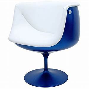 Tulip Chair Design Blue Color — Jen & Joes Design : A