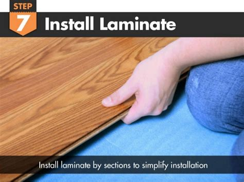 acclimating laminate flooring install how to install vapor 3 in 1 blue underlayment