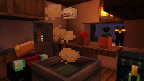 minecraft witch hut interior minecraft interior design