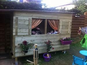 Cabane En Bois De Jardin : bricolage construction cabane en bois et abri de jardin ~ Dailycaller-alerts.com Idées de Décoration