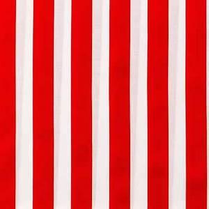 Red & White Stripe Apparel Fabric Hobby Lobby 1095736