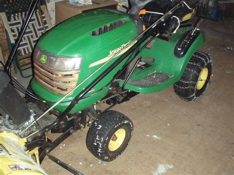 2003 john deere l110 lawn garden and commercial mowing