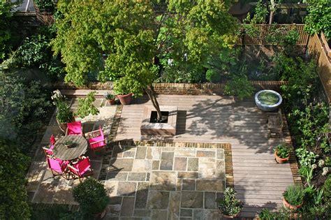 Primrose Hill Kleiner Garten Hinterm Haus Foto & Bild