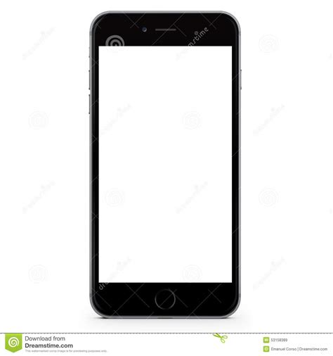 iphone stock iphone 6 plus black editorial stock image image 53158389