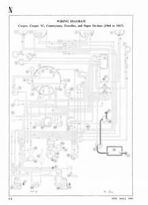 Classic Mini Cooper Cooper  U0026 39 S U0026 39  Contryman A3 Wiring Diagram  U0026 39 64