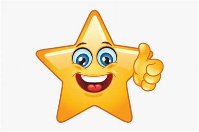Emoji Star Smiley Re Clipart Face Incredible