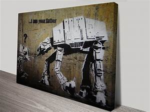 I am your father Banksy Framed Wall Art Print & Poster ...