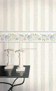 Tapeten Schlafzimmer Landhaus : blumen tapeten 5 landhausstil florale u streifen tapete u borte online kaufen ~ Sanjose-hotels-ca.com Haus und Dekorationen