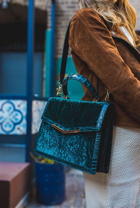 green velvet handbag  brahmin teal handbag handbag outfit brahmin handbags